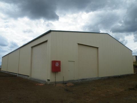 Diamond Tough Steel Kit Shed