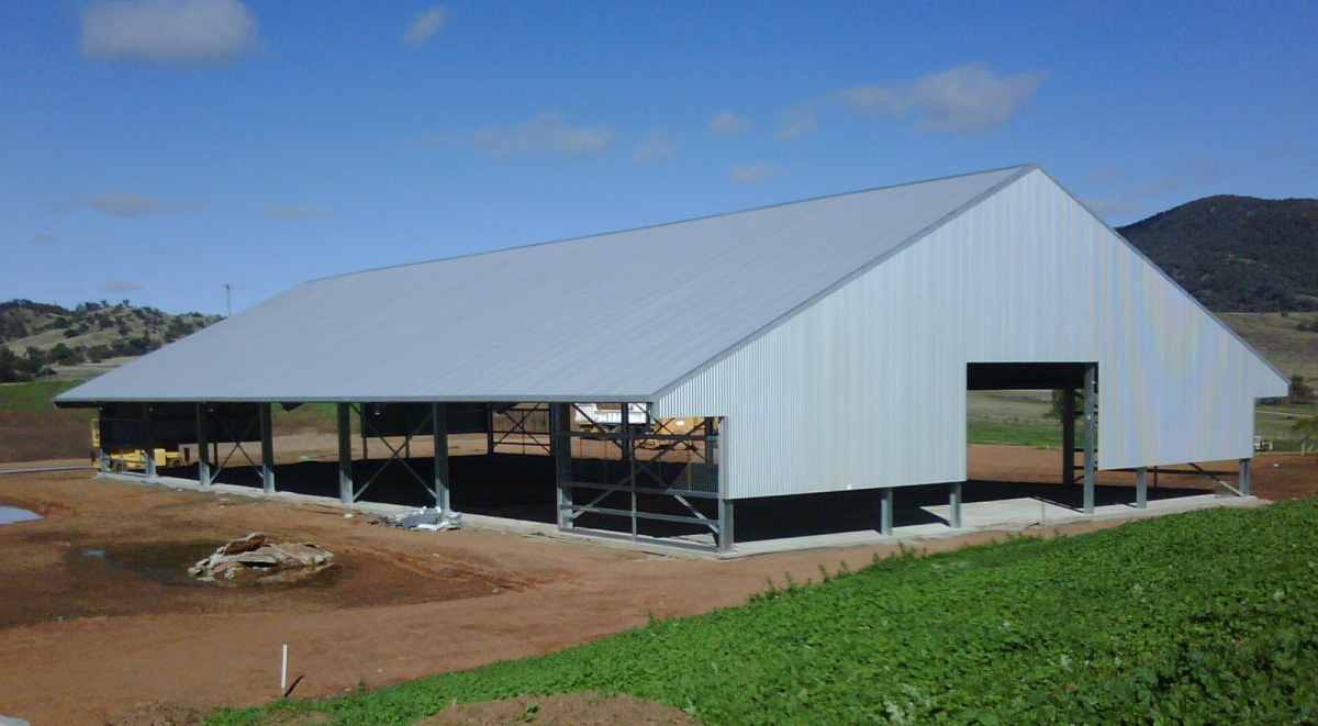 Rural Sheds Fully Customisable Steel Farm Shed Kits